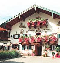 Gasthof Metzgerei Hinterwirt In Ubersee Deutschland Kneipen De